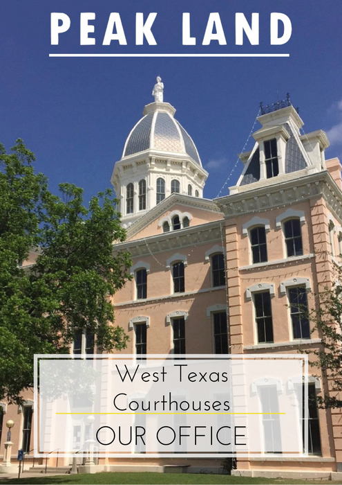 Peak Land Services- West Texas Courthouses